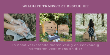 Sneak Preview: Overhandiging eerste Wildlife Transport Rescue Kit aan Hilde van Garderen, wethouder van Almere