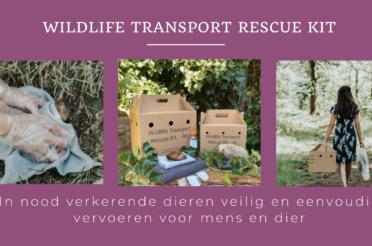 Sneak Preview: Overhandiging eerste Wildlife Transport Rescue Kit aan Hilde van Garderen, wethouder van Almere